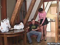 japanese hot mom fuck her son in-law