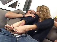 mature french footjob