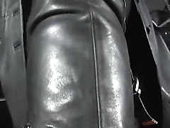 smoking leather