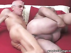 gay grandpas threesome