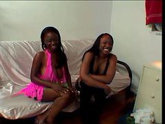 Hot Ebony Chick With The Tight Punaani Boned