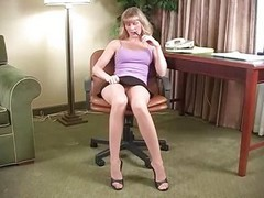 boss gets anal from secretary