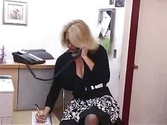 innocent office lesbian strips