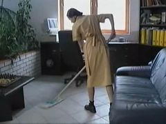 wife and husband fuck their maid