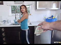 cash for a show with maid