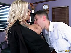 brazzers - britney shannon - big tits at school