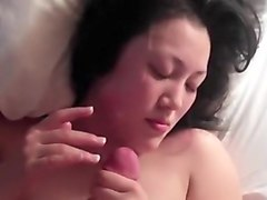asian handjobs with cumshots
