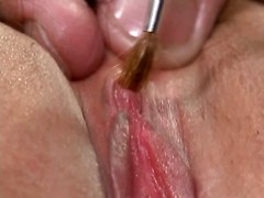 clit massage and orgasm