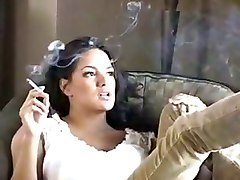 smoking wife
