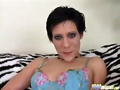 sybian and blowjob