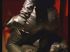 matures in leather